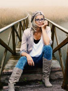 Claudia (46 jaar) heeft te maken met de overgang