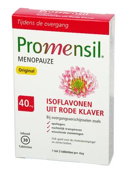 Promensil® Original Menopauze met rode klaver - Bij overgangsverschijnselen